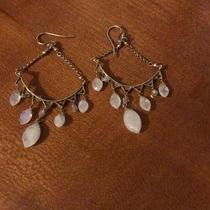 Gently worn gorgeous Labradorite gold tones